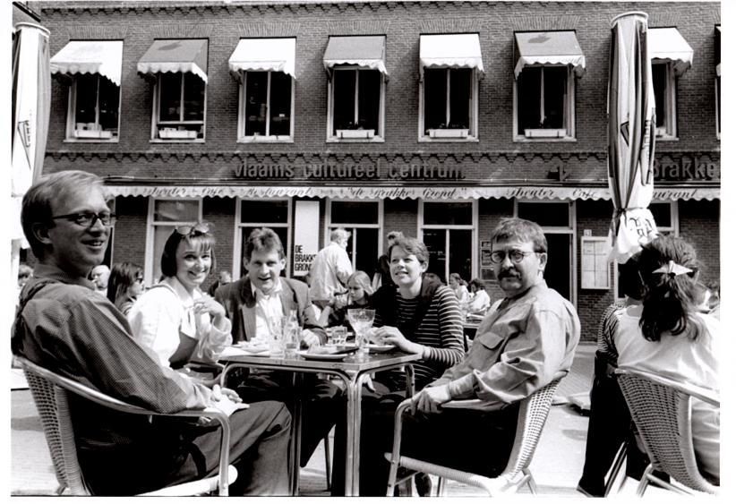 De eerste jaren van de Brakke Grond, toen nog Vlaams Cultureel Centrum © De Brakke Grond