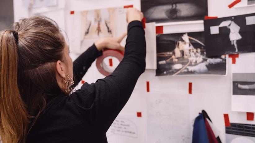 Met Miet in LaVallée, haar atelier in Molenbeek.