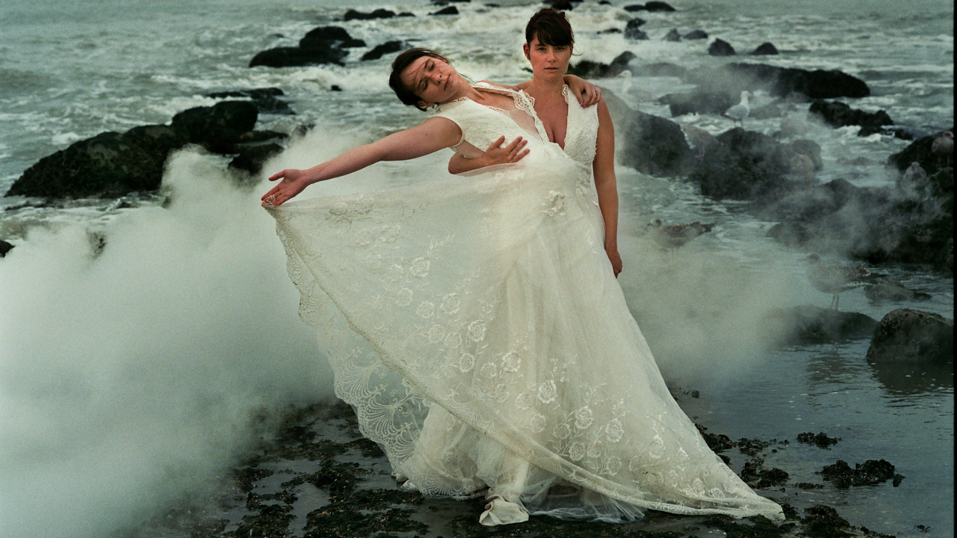 Kim Snauwaert en Anyuta Wiazemsky Snauwaert